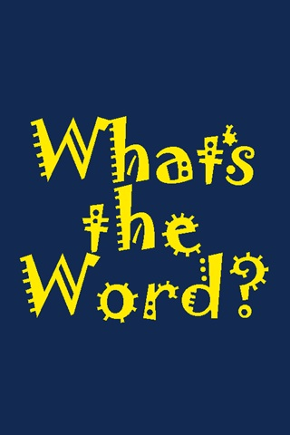 Screenshot What's the Word?