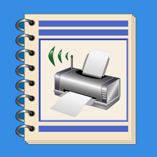 NotePrinter with email and secured files app icon