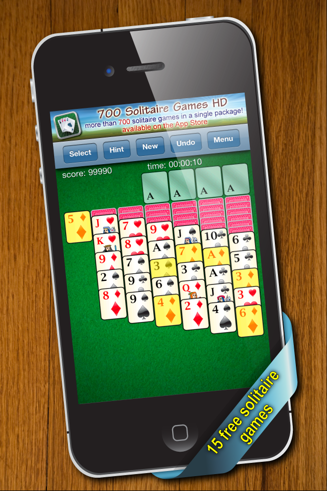 Screenshot 700 Solitaire Games Free